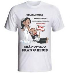 Venda de camisetas personalizadas