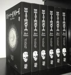 Coleção Mangá Death Note - Black Edition