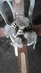 Vendo ventilador de teto antigo fusionando perveito