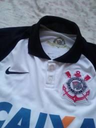 Camisa Original Corinthians Modelo Torcedor 2015 Autografada por Alguns do  Elenco 2018 8c79a0aa72