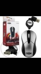 Mouse c/ fio Dex promoção