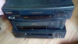Pra levar esta pilha de vídeo cassete