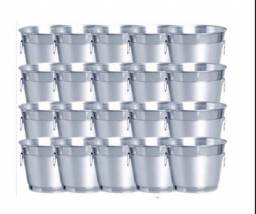 5 baldes de gelo em aluminium 9 litros