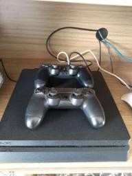 Console PS4 3 jogos 2 controles
