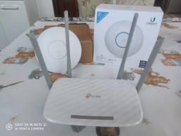 Unifi novo e Roteador TP-Link