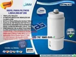 Refil para Filtros Linha 200-Entrega e Troca Grátis