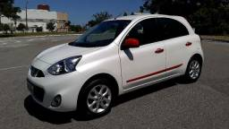 Nissan March Sv 1.0 Branco pérola