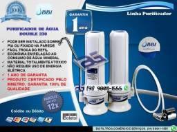 Filtro Purificador de água Double 230 - 2 Torres-Entrega e Instalação Grátis