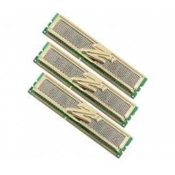 6gb 3 unidades memoria ocz pc3 16000 (2000mhz) gold - 2gb cada ddr3