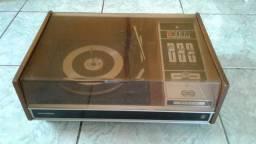 raro toca disco amplificado Grundig estudio 211 conservado funcionando -leia.