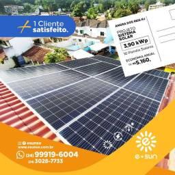 Energia Solar Fotovoltaica-Instalado e Homologada