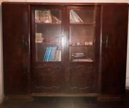Livreiro, armário bem antigo VINTAGE