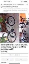 vende-se bicicleta Fivsr na Cor preta<br><br>sem nenhuma marca de uso! Freio<br><br>hidráulico aro 29
