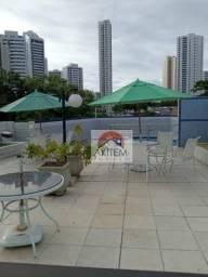Apartamento com 3 dormitórios para alugar, 110 m² por R$ 2.950/mês - Rosarinho - Recife/PE