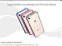 Capinha iphone 7/8 lote com 100