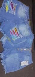 Shorts jeans novos/nunca usado