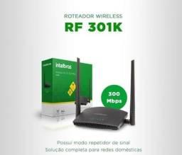 Roteador wireless RF 301k Intelbras 300 Mbps