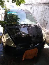 Honda Fit 2003/2004 motor 1.4 cor preto