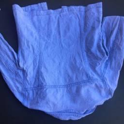 Jaqueta Tam P jeans claro