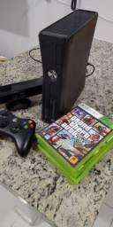 Xbox 360 Kinect + 4 Jogos Originais