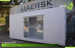 Loja em Container 15m² - com banheiro