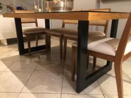 Fábrica de pés de mesas e bancos estilo industrial para móveis rústicos