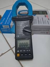 Alicate amperimetro Minipa