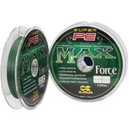 Linha Multifilamento Max Force 4x 100m 0,26mm 39lbs