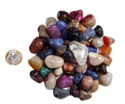 Pedras semi preciosas coloridas