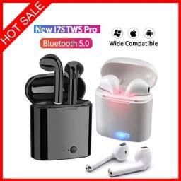 Fone de Ouvido i7s TWS Bluetooth 5 0 / Estéreo com Pod Carregador / Headset/