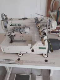 Máquina de costura industrial cobertura (digital)