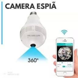 Camera de Seguranca Original Ip Lampada Vr 360 Espia Wifi V380 Celular Espiam cuiaba