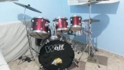 Bateria Wolf Drums