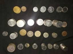 Moedas antigas.180 moedas
