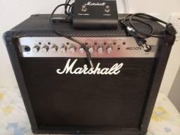 Amplificador Guitarra Marshall MG50CFX 2 canais (Clean/Crunch, OD1/OD2) Reverb e Efeitos