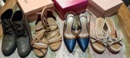 Kit 4 pares de calçados