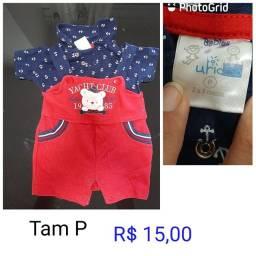 Roupas bebê menino - a partir de R$ 5,00