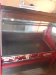 Balcão freezer de carnes