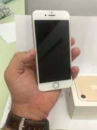 iPhone 7, 128GB, seminovo, dourado