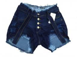 Atacado Kit 10 Shorts Jeans Cós Médio 34/44