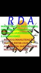 RDA manutenção e reformas