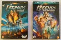 Dvd Filme Dc Legends. (1°e3°Temp.completa) 4discos.