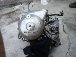 Motor de cg 150 parte de baixo com nf.