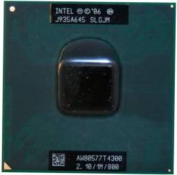 Processador P/ Note Intel Dual Core T4300 2.10/800/1mb Slgjm