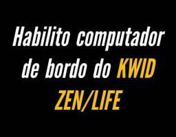 HABILITO COMPUTADOR DE BORDO DO KWID LIFE/ZEN