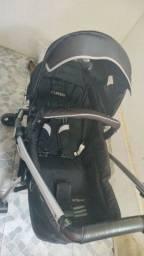 Carrinho de bebê Kiddo eclipse Moisés com bebê conforto e suporte de carro