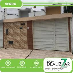Casa 2/4 com suíte no bairro Santo Antônio