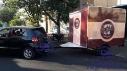 Grande Promoção de Trailers e Food Trucks 2x2m Modelo Economic
