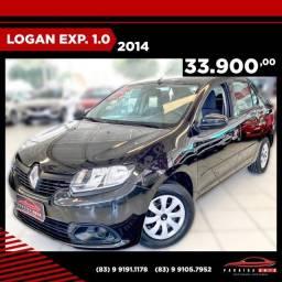 Título do anúncio: Renault Logan Exp 1.0- 2014 Completo ( Paraíba Auto )