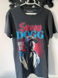 Camiseta cinza Snoop Dogg original